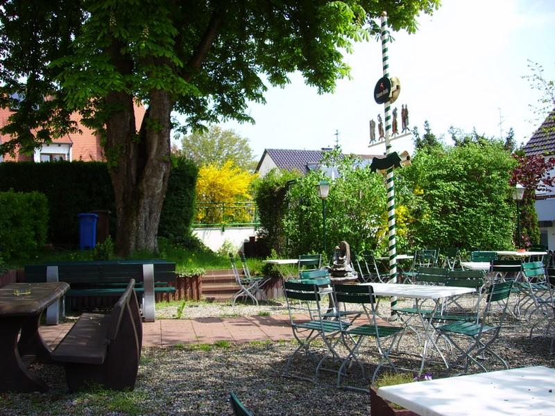 Gaststätte mit Biergarten (Foto: Stadt Gersthofen)