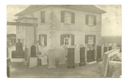 Natursteine Wagner - Foto aus der Gründungszeit um 1912