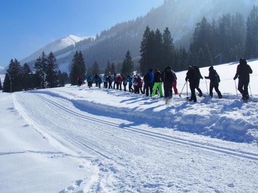 Stadt Gersthofen bricht auf zum 2. Gersthofer Schneetreiben