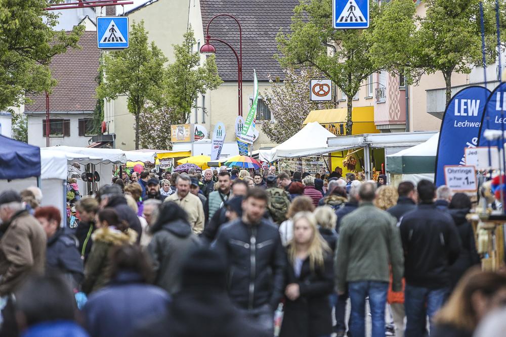 Maimarkt in Gersthofen - ein beliebtes Event für Jung und Alt