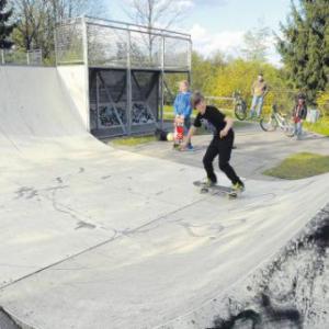 Skateranlage Gersthofen (Foto: Marcus Merk)