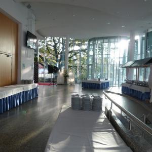 Stadthalle Gersthofen, Foyer 1. OG (Foto: Kulturamt Gersthofen)