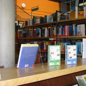 Stadtbibliothek Gersthofen, Erdgeschoß (Foto: Lechner)
