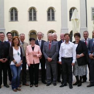 Die Stadt bedankt sich bei den ausgeschiedenen Stadträten für den engagierten Einsatz