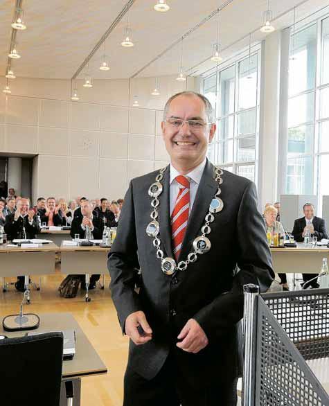 Erster Bürgermeister Michael Wörle am 07.05.2014 (Foto: Marcus Merk)