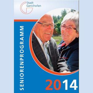 Seniorenprogramm 2014 der Stadt Gersthofen