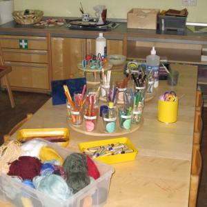 Atelier (Foto: Kita St. Elisabeth)