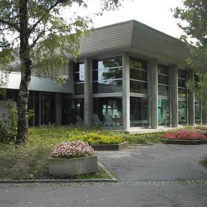 Hallenbad, Gersthofen, Brucknerstraße (Foto: Merk)