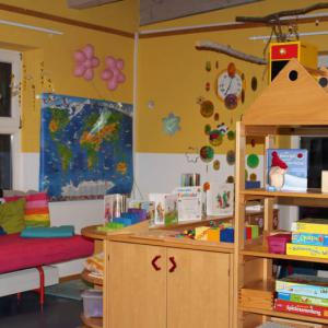 Bienen - Gruppenraum (Foto: Kolpingkindergarten)