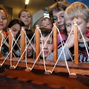 """Da Vincis Maschinen"""" - Ausstellung (Foto: Merk)"""