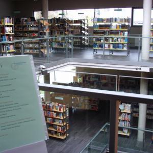 Stadtbibliothek Gersthofen, Obergeschoß (Foto: Lechner)