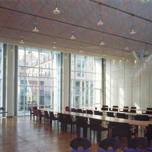 Großer Sitzungssaal im Rathaus Gersthofen (Foto: Merk)