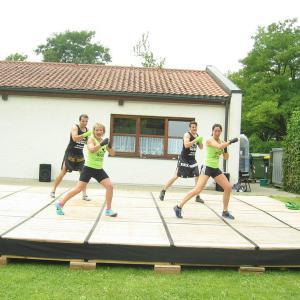 Stadtsportfest 2014 -Wettkampf in der Gerfriedswelle (Foto: Klara Simon)