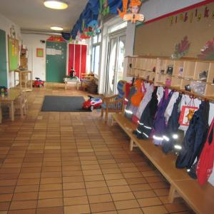Unsere Garderobe (Foto: Kita St. Elisabeth)