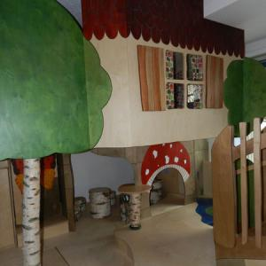 Neues Spielzimmer in der Kinderkrippe