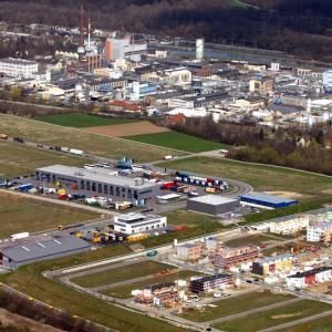Industrie in Gersthofen (Foto: Merk)